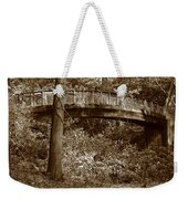 Old Bridge In Summer Weekender Tote Bag