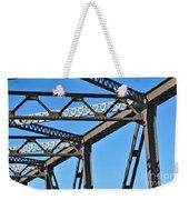 Old Bridge Structure Weekender Tote Bag
