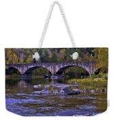 Old Bridge Two Weekender Tote Bag