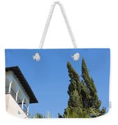 Old Building And Trees Weekender Tote Bag