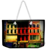 Old Buildings 6th Avenue - Vintage Nyc Architecture Weekender Tote Bag