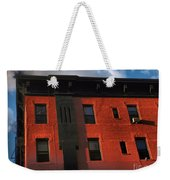Brownstone 1 - Old Buildings And Architecture Of New York City Weekender Tote Bag