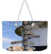 Old Cape Point Lighthouse In South Africa Weekender Tote Bag
