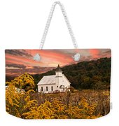 Old Carmel Ohio Church Weekender Tote Bag