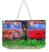 Old Cars Weekender Tote Bag