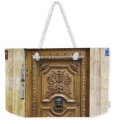 Old Carved Door Weekender Tote Bag