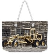 Old Cat Grader Weekender Tote Bag