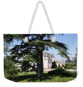 Old Cedar At Chateau Amboise Weekender Tote Bag