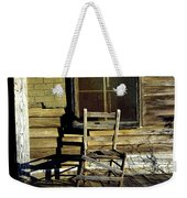 Old Chair On Old Porch Weekender Tote Bag