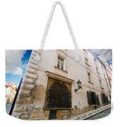 Old Charming Street In Prague Weekender Tote Bag