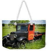 Old Chevrolet Truck Weekender Tote Bag
