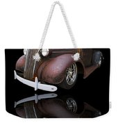 Old Chevy Weekender Tote Bag by Debra and Dave Vanderlaan