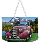 Old Chevy Pickup Ca5073-14 Weekender Tote Bag