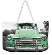 Old Chevy Pickup Truck Weekender Tote Bag