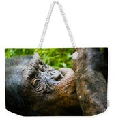 Old Chimp Weekender Tote Bag