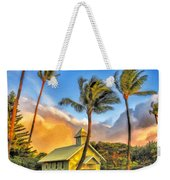 Old Church At Honokawai Maui Weekender Tote Bag