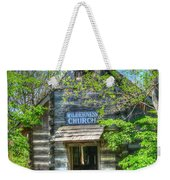Old Church In The Woods Weekender Tote Bag