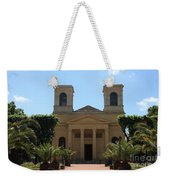 Old Church - Macon - Burgundy Weekender Tote Bag