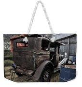 Old Classic Car Weekender Tote Bag
