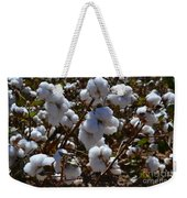 Old Cotton Fields Back Home Weekender Tote Bag by Beverly Guilliams