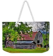 Old Country Barn Weekender Tote Bag