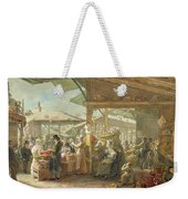 Old Covent Garden Market Weekender Tote Bag by George the Elder Scharf