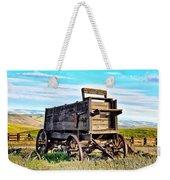 Old Covered Wagon Weekender Tote Bag