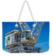 Old Crane  Weekender Tote Bag