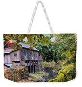 Old Creek Grist Mill In Autumn Weekender Tote Bag