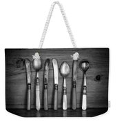 Old Cutlery Weekender Tote Bag
