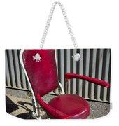 Old Dentist Chair Weekender Tote Bag