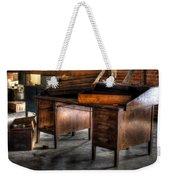 Old Desk In The Attic Weekender Tote Bag