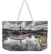 Old Dock Weekender Tote Bag by Adrian Evans
