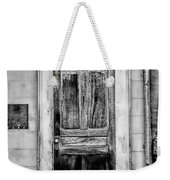Old Door - Bw Weekender Tote Bag