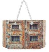 Old Door - Aged - Cracked - Abandoned Weekender Tote Bag