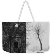 Old Door And Tree Weekender Tote Bag by William Jobes