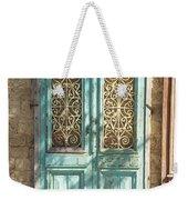 Old Door In Jersusalem Israel Weekender Tote Bag
