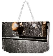 Old Door Lock Weekender Tote Bag