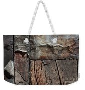 Old Door Textures Weekender Tote Bag