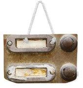 Old Doorbells Weekender Tote Bag