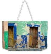 Old Doors, Mexico Weekender Tote Bag