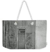 Old Doorway Bw Weekender Tote Bag