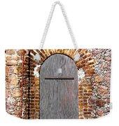 Old Doorway Of Pidgeon Island Fort Weekender Tote Bag