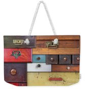 Old Drawers - In Utter Secrecy Weekender Tote Bag