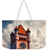 Old Dupage County Courthouse Clouds Weekender Tote Bag