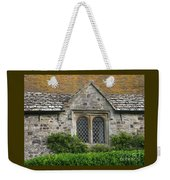Old English Weekender Tote Bag