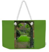 Old English Garden Weekender Tote Bag