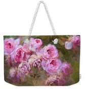 Old English Pink Weekender Tote Bag