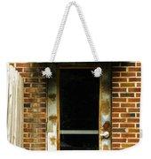 Old Factory Entrance Weekender Tote Bag
