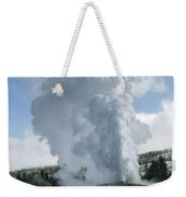 Old Faithful In Her Glory - Yellowstone Weekender Tote Bag